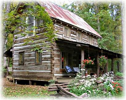Cabin Log Cabins Homes Houses Antique Indiana