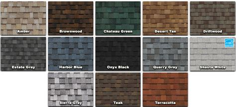 shingle colors asphalt roof shingles pros cons costs advantages and
