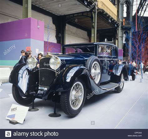 Peugeot Type 174 Coach 1924 French Vintage Car Stock Photo