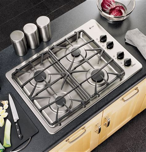 ge profile  built  gas cooktop jgpsekss ge appliances