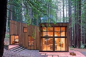 Sea Ranch Cabin by Frank / Architects HomeAdore
