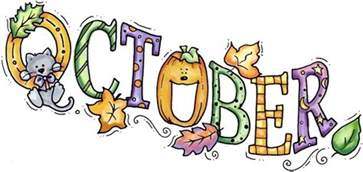 Image result for clip art october happenings