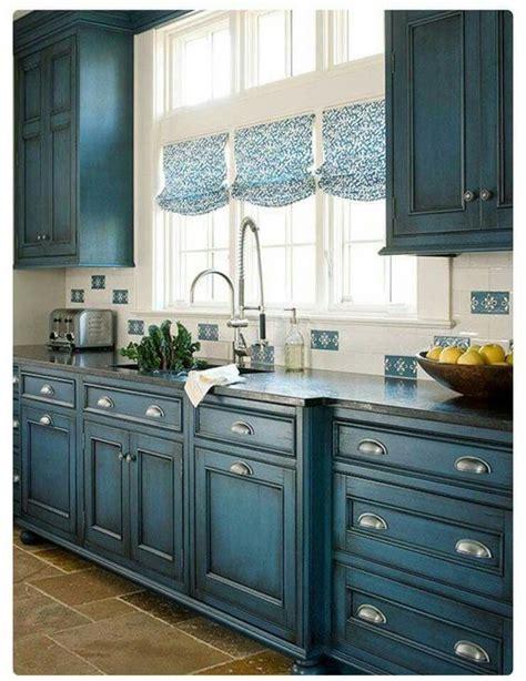 gorgeous blue kitchen cabinet ideas farmhouse kitchen