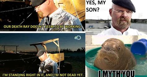 hilarious mythbusters scenes
