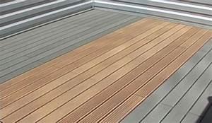 Pose Lame De Terrasse Composite Sans Lambourde : lambourdage aluminium sur plots r glables ~ Premium-room.com Idées de Décoration