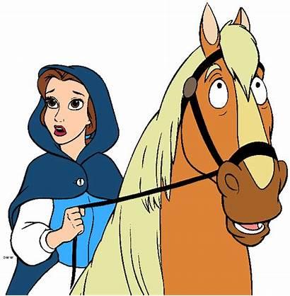 Clipart Belle Disney Princess Bestia Bella Clip