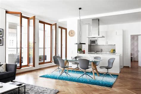 cuisine boconcept boconcept monza dining table adelaide chairs moderne salle à manger auckland par
