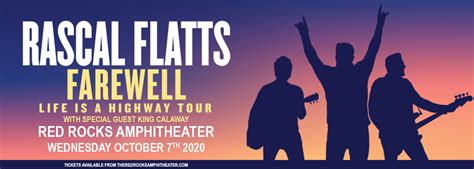 Rascal Flatts Cancelled Tickets 7th October Red