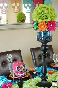 Day Of The Dead Party Week Soiree Event Design