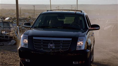 Cadillac Escalade Car In Breaking Bad Season 1 Episode 7