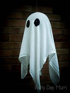 Floating, Ghosts, Diy, Craft, For, Halloween