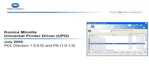The konica bizhub c224e can print, scan or copy a4 or a3 documents in color. Download Driver Bizhub C224E - Bizhub C368 Pt Perdana Jatiputra - The download center of konica ...