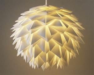 Origami Lampe Anleitung : origami lampenschirm my blog ~ Watch28wear.com Haus und Dekorationen