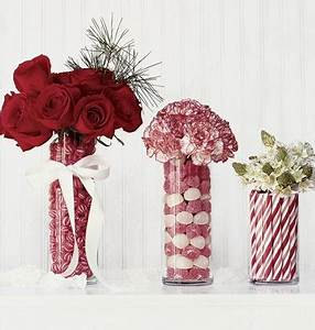 Stunning Christmas Candy Floral Centerpieces