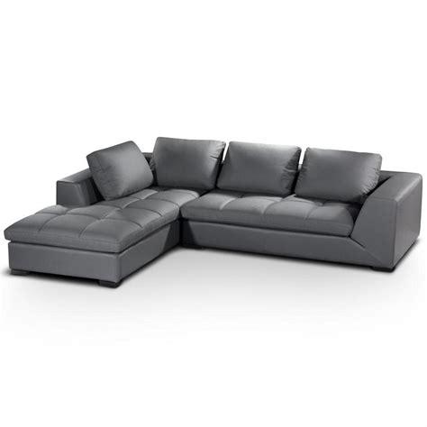 canapé d angle but gris photos canapé d 39 angle cuir gris
