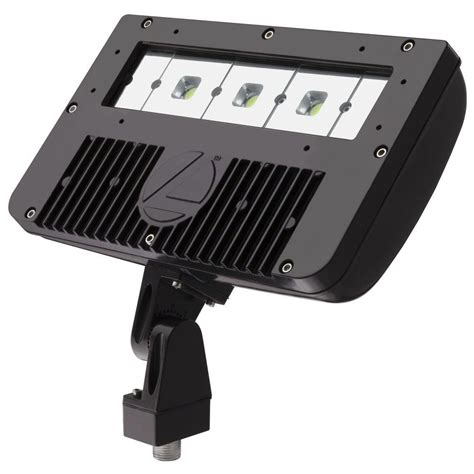 lithonia lighting bronze outdoor led flood light