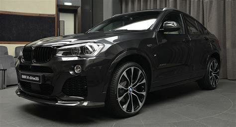 Bmw X4 Modification by Bmw X4 Looks The Goods With M Performance And 3d Design Parts