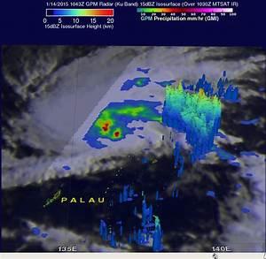 GPM satellite sees Tropical Storm mekkhala organizing
