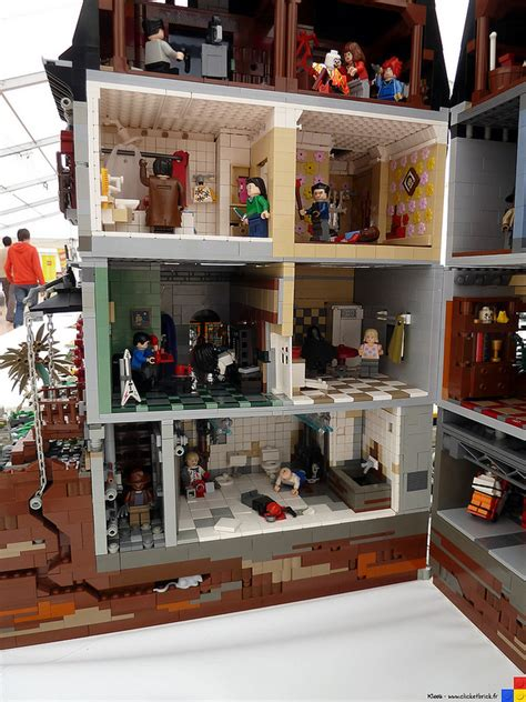 lego house  horrors  scenes