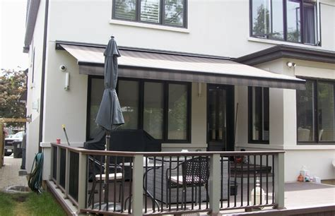 awning   deck rolltec retractable awnings toronto ontario canada