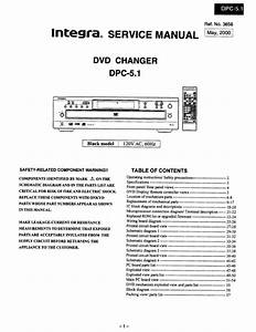 Onkyo Integra Dpc-5 1 Service Manual