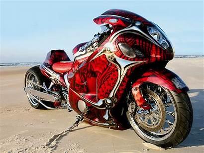 Motorcycle Hayabusa Custom Wallpapers Screensaver Bikes Cool