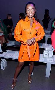 Karrueche Tran from See Every Celebrity at Fashion Week ...