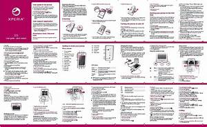 Sony Ericsson Xperia X8 Manual Leaked