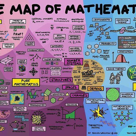 map  mathematics science pinterest