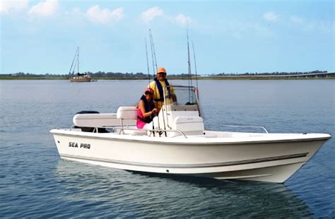 Sea Pro Boats Website by Sea Pro 174 Sv1900cc 2006 Website Photo Image Rnr Marine
