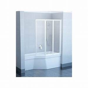 Pare Douche Pour Baignoire : pare baignoire 3 volets repliables ~ Premium-room.com Idées de Décoration