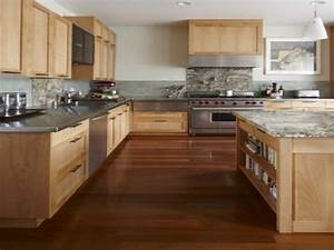Light wood floors and kitchen cabinets kitchen cabinet for Wood kitchen cabinets with wood floors