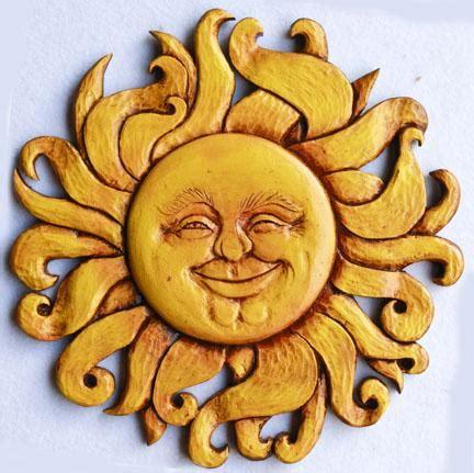 Celestial Sun Face Wall Decor Art 985SM – PIAZZA PISANO