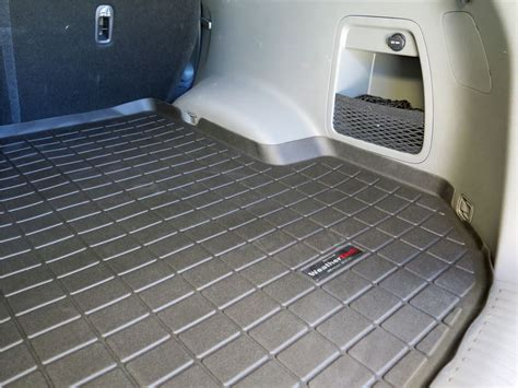 weathertech floor mats kia sorento 2017 kia sorento weathertech cargo liner black