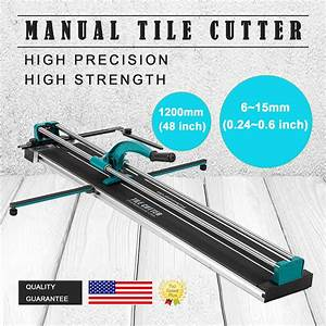 48 U0026quot  Manual Tile Cutter Cutting Machine Durable Adjustable
