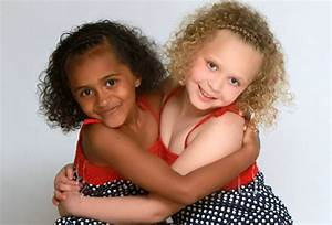 Beautiful Black And White Twins Kian And Remee Turn Seven
