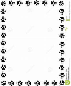 Dog Paw Print Border Clip Art - Clip Art. Net