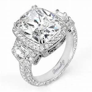 giant diamond ring With giant wedding ring