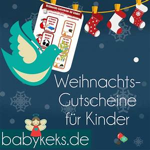 Dm Gutscheine Zum Ausdrucken : weihnachts gutscheine f r kinder babykeks ~ Markanthonyermac.com Haus und Dekorationen