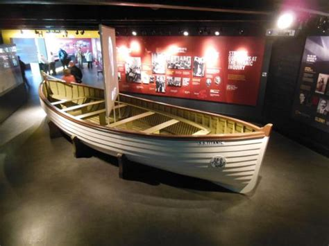 Titanic Boat Liverpool Tripadvisor by A Replica Of A Lifeboat In The Museum Picture Of Titanic