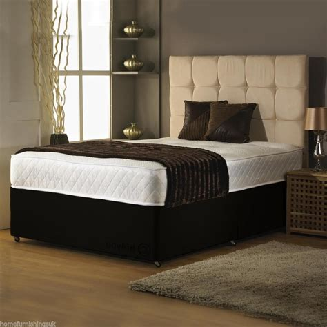 Cheap Bed by Affordable Cbs Memory Foam Divan Bed Set Supportive