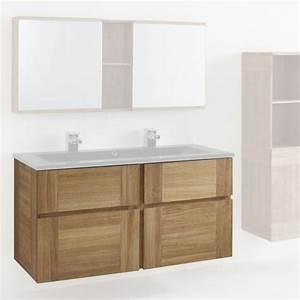 meuble sous vasque 120 cm essential castorama deco With meuble miroir salle de bain castorama
