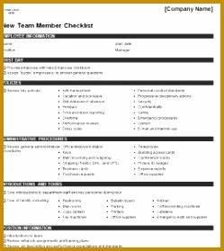 New Hire Training Plan Template 5 New Employee Joining Checklist Fabtemplatez
