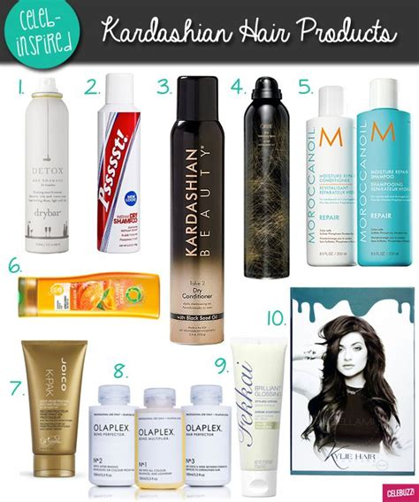 A Guide To The Kardashians And Jenners Favorite Hair