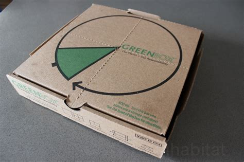 Behold! The Greenboxworld's Smartest Pizza Box
