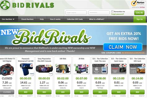 Bid Rivals Bidrivals Is Back Auction 174