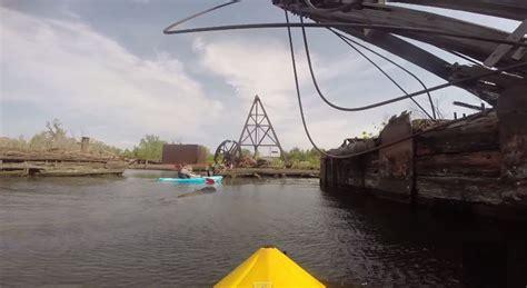 Boat Graveyard In Spanish by Kayaking Through The Arthur Kill Ship Graveyard