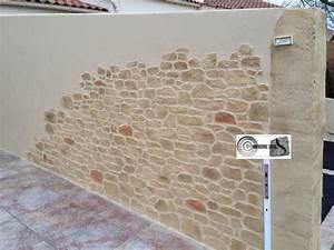les 25 meilleures idees concernant enduit mur exterieur With ordinary maison bois et pierre 18 decoration en trompe loeil en exterieur