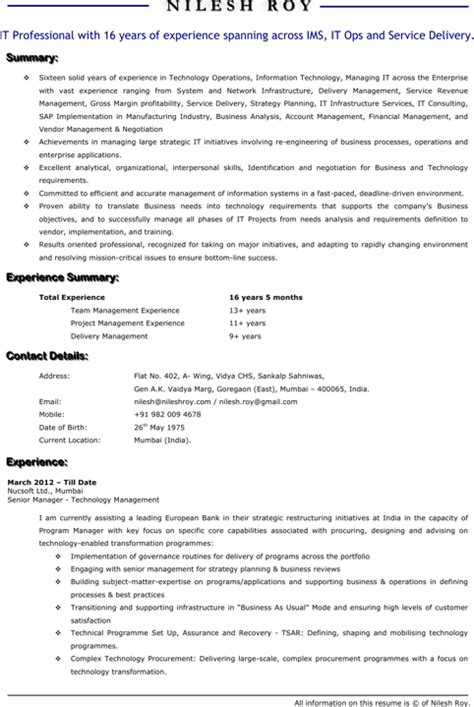 technical resume templates for free formtemplate