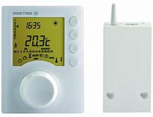 Thermostat Chaudiere Sans Fil : thermostat programmable radio 1 zone pour chaudire tybox ~ Dailycaller-alerts.com Idées de Décoration